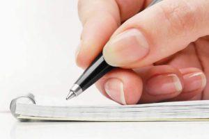 هرم وارونه نوشتن
