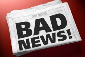 دادن خبر بد