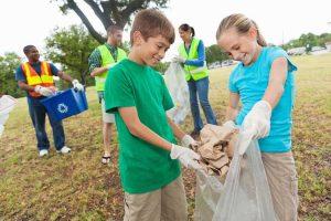 آموزش نگهداری از محیط زیست به کودکان