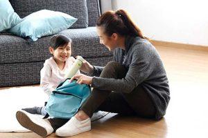 آموزش نگهداری از وسایل شخصی به کودکان