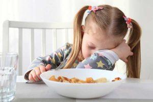 مشکلات غذا خوردن در کودکان دبستانی
