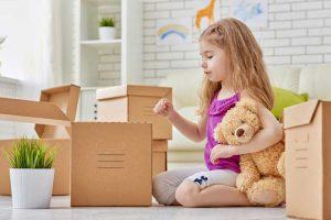آماده کردن کودک برای جابجایی منزل