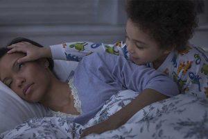 راهکارهایی دیر خوابیدن کودکان