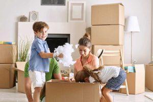 سازگاری کودک با نقل مکان به خانه جدید