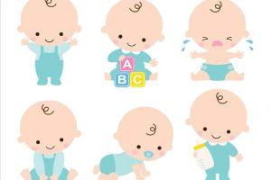 مراحل اولیه رشد کودکان