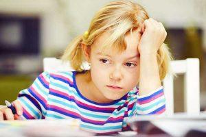 کاهش استرس کودکان دبستانی