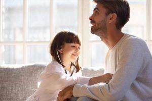 رفتار درست پدر با دختر
