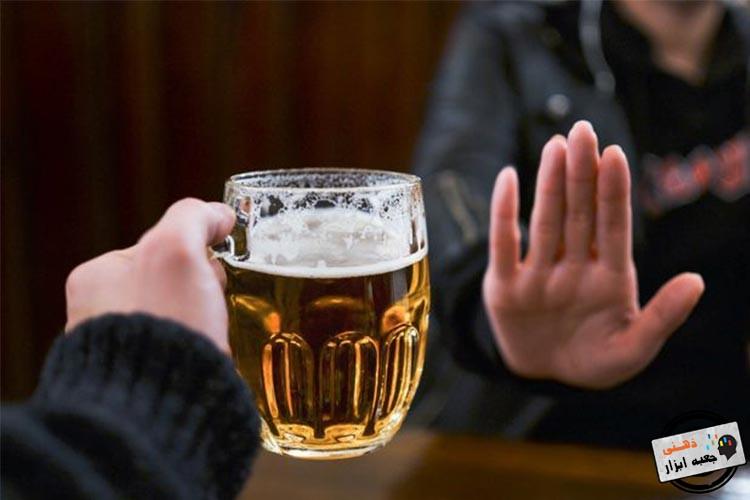 مصرف الکل قبل از خواب