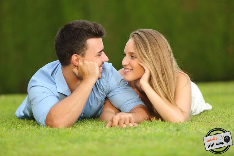 ارتباط چشمی نشانه عشق
