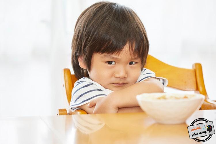 مشکل غذا خوردن کودکان اوتیستیک