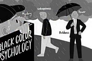 روانشناسی رنگ سیاه
