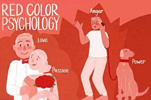 روانشناسی رنگ قرمز